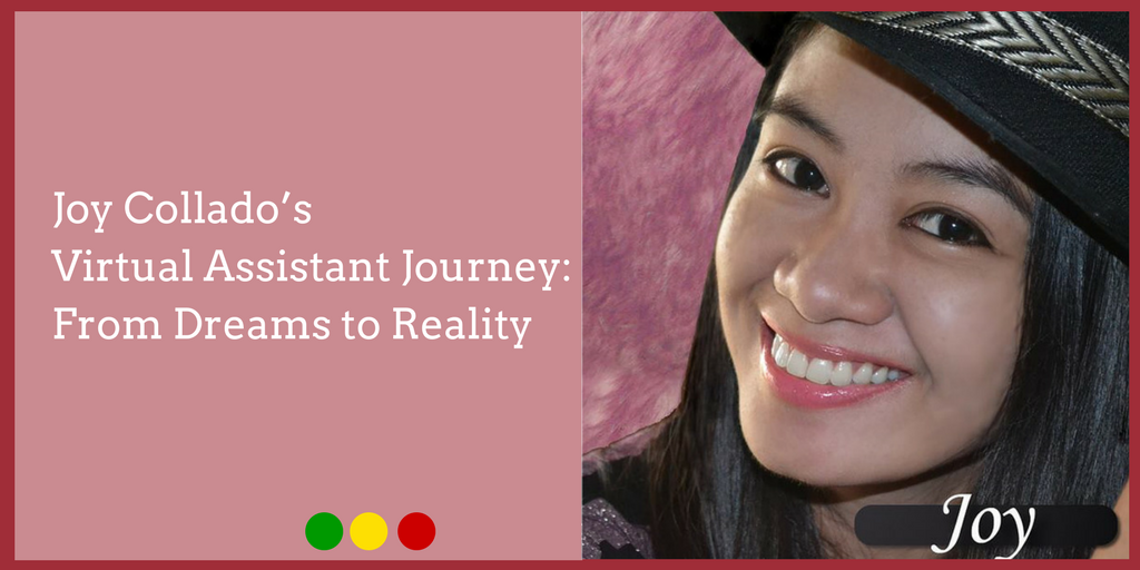 Joy Collado's Virtual Assistant Journey