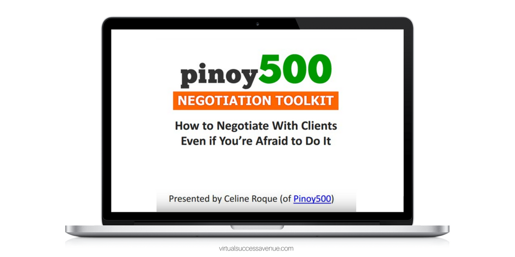 How To Develop Effective Negotiation Skills with Celine Roque