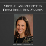 Virtual Assistant Tips To Success from Reese Ben-Yaacov