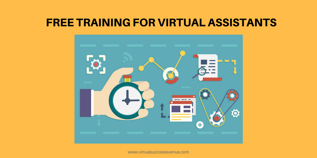 FREE TRAINING FOR VIRTUAL ASSISTANTS