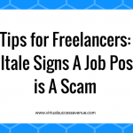 Tips for Freelancers: 7 Telltale Signs A Job Posting is A Scam